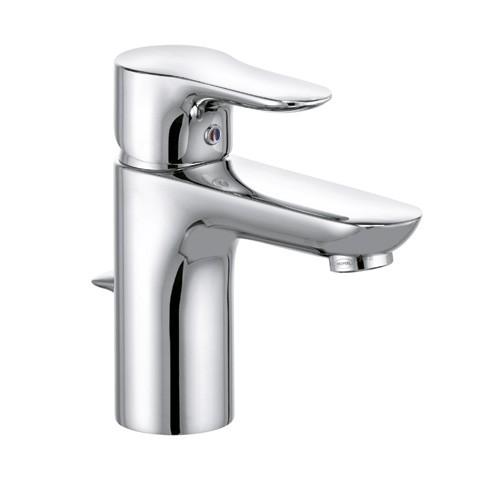Objekta Waschtisch-Einhandmischer DN 15 Ablaufgarnitur, 5 Liter chrom, 322350575 322350575