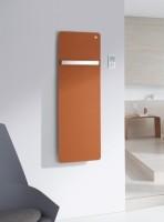 Zehnder Design-Heizkörper Vitalo elektrisch, VIPE-125-040/FD 1250x16x400, RAL 9017