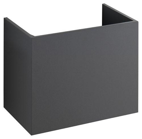 Keuco WT-Unterbau m.Griff Edition 300 30561 mit Frontauszug, weiß hochglanz, 30561002101