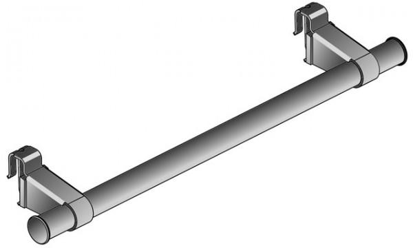 Kermi Handtuchhalter Flachheizkörper L=600mm weiß