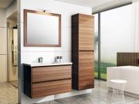 Neuesbad Premium Serie 4 Waschtischunterschrank mit 2 Schubladen