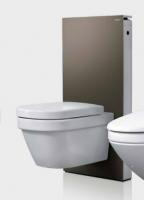 Geberit Monolith Plus Sanitärmodul für Aquaclean 8000 / 8000plus 131224SQ1, 101cm, Glas umbra