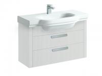 Laufen Waschtischunterbau LB³ classic 820x370x585,2 Schubladen,weiß, 43611.2, 4361120685601