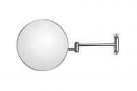 KOH-I-NOOR Discolo 38/22 Vergrößerungsspiegel 3-fach Ø 230, Doppelarm