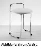 Decor Walther DW 60 Badhocker - chrom /schwarz