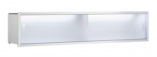Emco asis Ablage-Modul, LED, Unterputz, 800mm, aluminium, 971227380