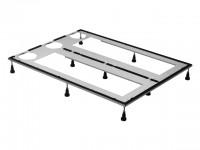 Duravit Fußgestell für Duschwannen aus, DuraSolid, 1200x900mm, höhenverstellbar, 790171000000000
