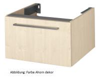VitrA Waschtisch-Unterschr. f. Konsolenplatte Options, 600x540x350 mm Kirschbaum dunkel, Dekor, 8009