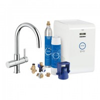 Grohe Blue Starter Kit 31323 für BWT-Filter C-Auslauf chrom