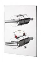 IB Love Me Unterputz Thermostatarmatur mit Mengenregulierung, inklusive Einbaukörper