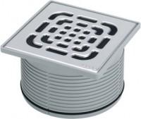 Viega Aufsatz 4922.5 in 150x150mm Kunststoff grau