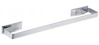 KOH-I-NOOR LeM 5807 Handtuchhalter 6,5x 32 cm chrom, Einfahe Montage ohne Bohren