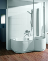 Bette Rechteck-Badewanne Cora Ronda Comfort 8510, 170x90x42 cm