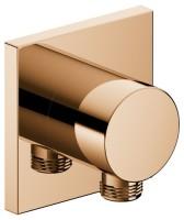 Keuco Schlauchanschluss IXMO 59547, eckig, Bronze poliert, 59547020002