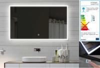 Neuesbad LED Lichtspiegel mit Touch Schalter, B:1000, H:600 mm