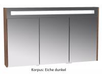 VitrA Spiegelschrank VitrA S20, 1200x150x700 mm Korpus Anthrazit,Dekor, 82252