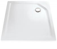 HSK Acryl Quadrat-Duschwanne super-flach 80 x 80 x 3,5 cm, ohne Schürze