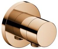 Keuco 3-Wege Ab-u.Umstellv.IXMO Pure 59549, Schlauchanschluss, rund, Bronze poliert, 59549020101