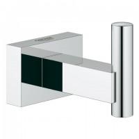 Grohe Bademantelhaken Essentials Cube 40511 Metall chrom, 40511001