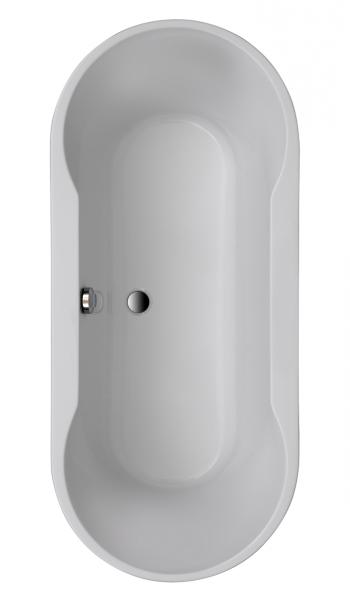 Acryl Ovalwanne Montego 1800x800 mm, weiß