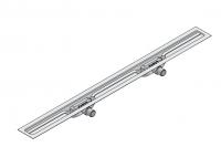 I-DRAIN Korpus Linear Plus 54 mm, 110cm,2Siph.waagr.DN40,m.Abd.2m