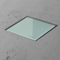 Aqua Jewels Quattro MSI-3 10x10 cm Glas Grün, senkrecht