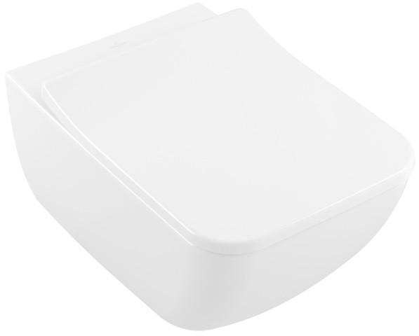 Villeroy & Boch Wand-WC spülrandlos Venticello, 4611R001, B: 375, T: 560 mm, Weiß Alpin