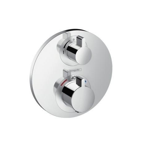 Hansgrohe Thermostat Unterputz Ecostat S Fertigset 2 Verbraucher chrom , 15758000