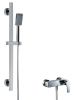 HSK Shower Set 2.01 Softcube chrom