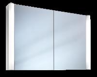 Schneider Spiegelschrank Moanaline 100/2/FL, 2x24W 1000x640x140 alueloxiert, 157.100.02.50