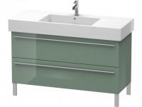 Duravit Waschtischunterschrank wandhängend X-Large 470x1200x588mm, 2 Auszüge, f.032912 , Front/Korpu