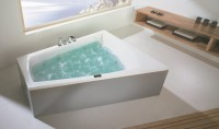 Hoesch Badewanne Largo Trapez 1800x1400 rechts,