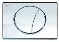 Mepa Ellipse für A21/E21 Betätigungsplatte 2-Mengen Glanz Chrom