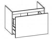 Artiqua SELECTION 311 Waschtischunterschrank mit Innenschubkasten B:750mm