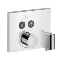 Hansgrohe Thermostat UP Axor ShowerSelect FS 2 Verbr.quadr.chr.mit Fixfit u.Porter, 36712000