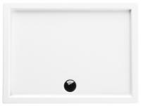 Neuesbad Acryl Rechteck Duschwanne 1200 x 800 x 55 mm, weiss