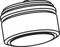 Mepa Sanicontrol Perlator, zu Wandauslaufarmatur T622, 700981
