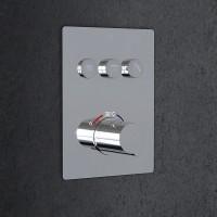 """Steinberg Serie 390  Unterputz-Thermostat 3/4"""" für 3 Verbraucher, 3904231"""