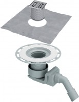 Viega Ablaufgarnitur 4927 in DN40xDN50 Kunststoff grau