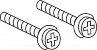 Mepa Befestigungsschrauben, für Grundrahmen Bet.platte, 590780