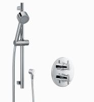 HSK Shower Set 1.02 Rund, chrom