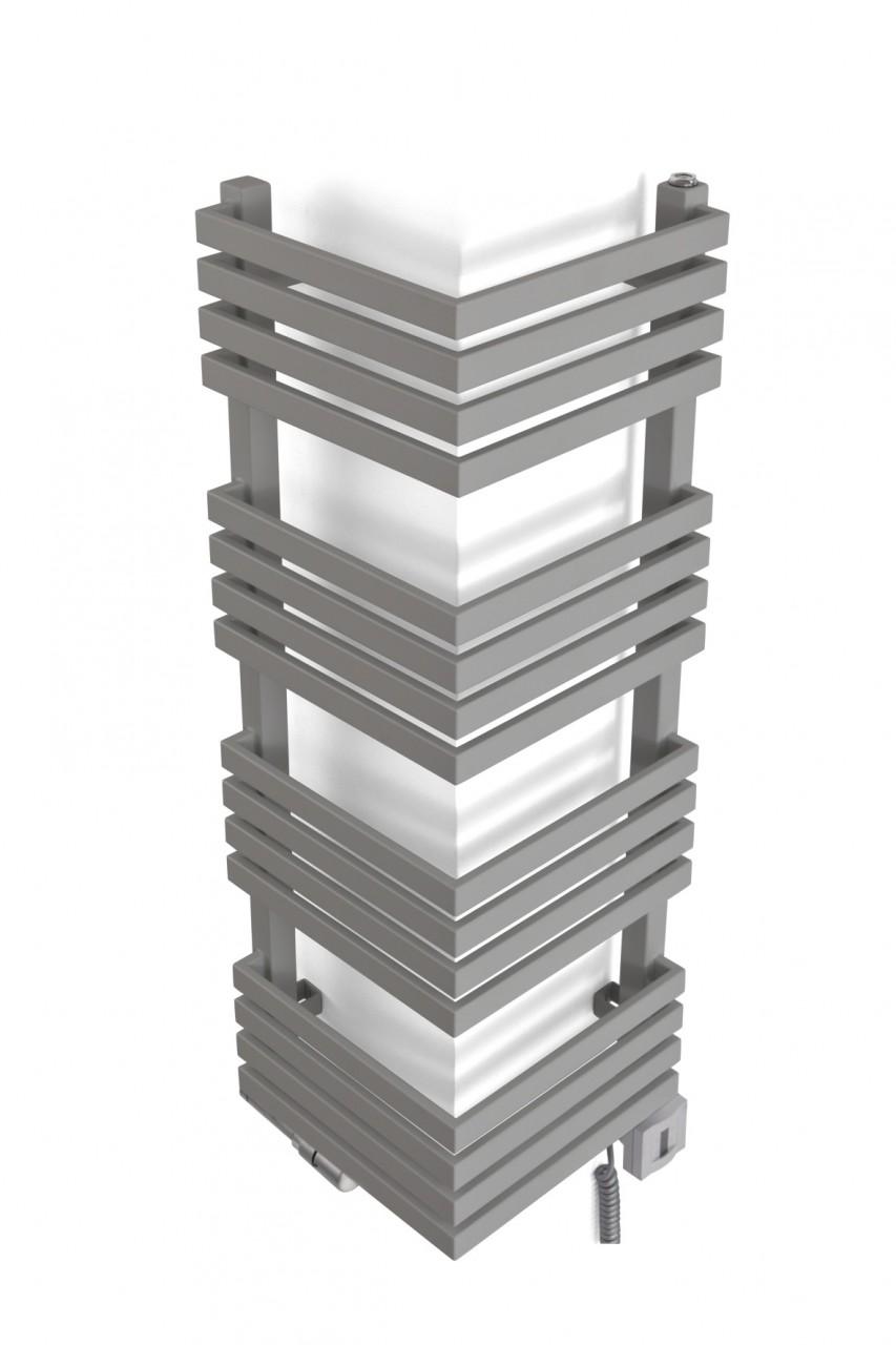 Outcorner Heizkörper H: 735, B: 305 mm Mischbetrieb RAL 8002