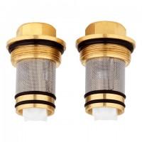 Grohe Rückflussverhinderer Thermostat 14116 DN15 chrom 2 Stück, 1411600M