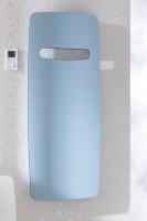 Zehnder Design-Heizkörper Vitalo elektrisch, VITE-180-050/FD 1800x16x490, RAL 9010