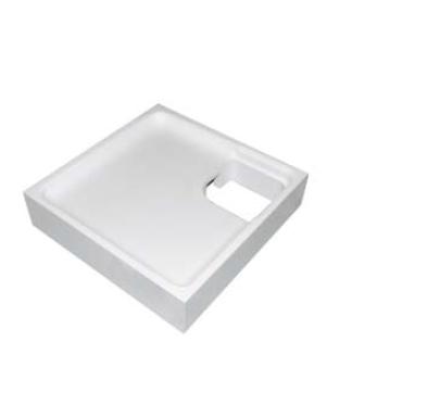 Wannenträger für Vitra Normus 80x80x7 Viertelkreis SD94069