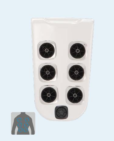 Villeroy & Boch Premium Line, Comfort Line, B&W Edition JetPak 2 Erweiterung Modell J02, Pulsator