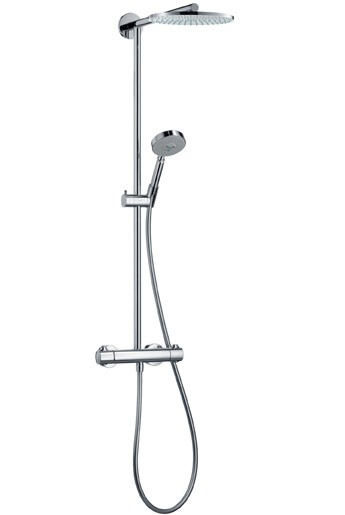 Showerpipe Raindance chrom Kopfbrause 27160000