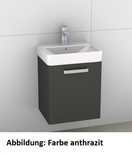 Artiqua 413 Waschtischunterschrank für Smyle Square 500222 (ehem. 120545), Sangallo Grau quer, 413-W