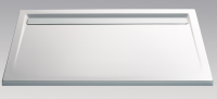 HSK Acryl Rechteck-Duschwanne super-flach 90 x 120 x 3,5 cm, mit integrierter Ablaufrinne