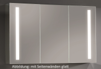 Sanipa Alu LED Spiegelschrank Reflection, AU3176L, Breite:1300mm, Höhe:747mm, Tiefe:172mm